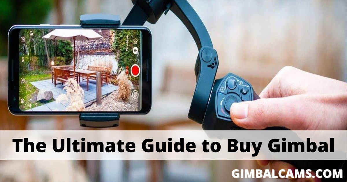 A Complete Gimbal Buying Guide You Can't Ignore